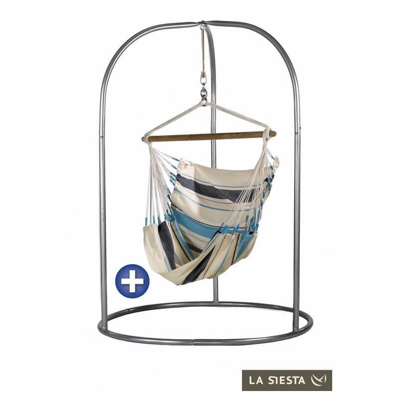 chaise hamac caribena aqua blue. Black Bedroom Furniture Sets. Home Design Ideas