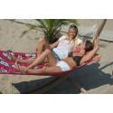 Hamac à barres double Hawaï Hibiscus