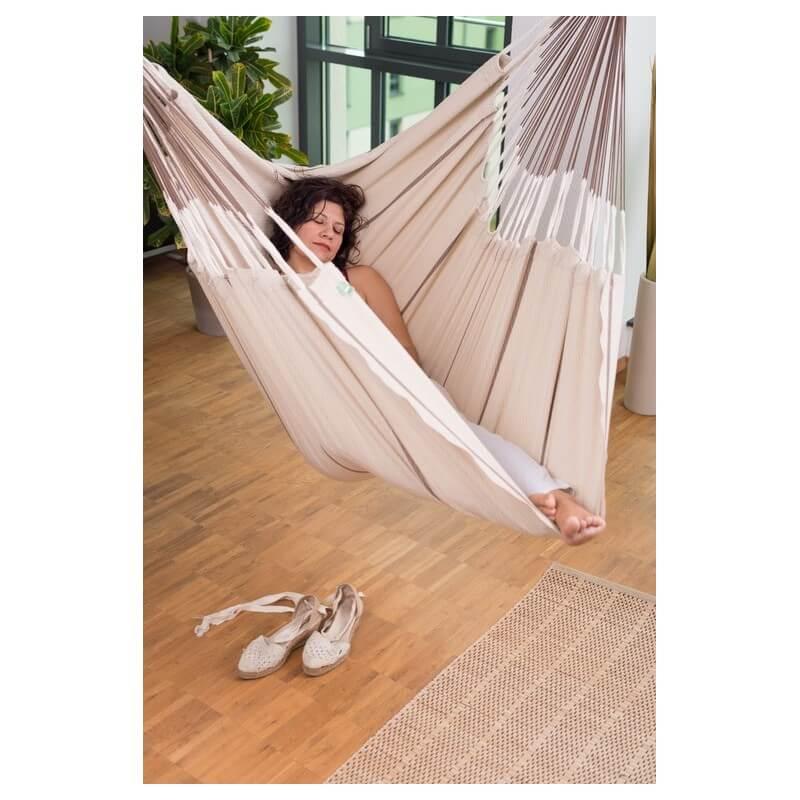chaise hamac habana nougat. Black Bedroom Furniture Sets. Home Design Ideas