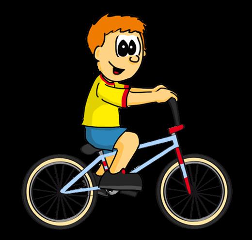 L'enfant grandit et passe au vélo