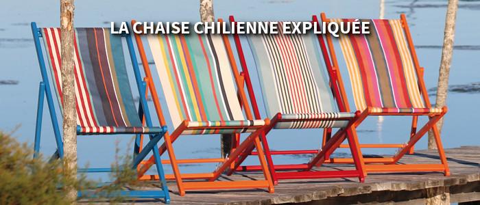 la chaise chilienne expliquée